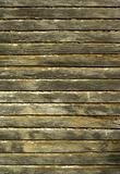 old wooden wall structure