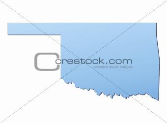 Oklahoma(USA) map