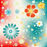 flowers background design