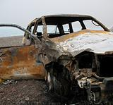 Burned out Car Wreck