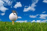 Golf ball grenade