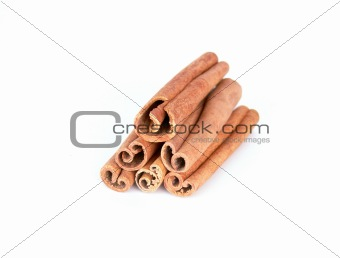 Cinnamon sticks tower