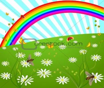 Floral  artistic vector design  background
