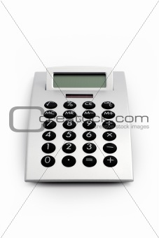Electronic Calculator Isolated