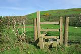 Rural Wooden Stile