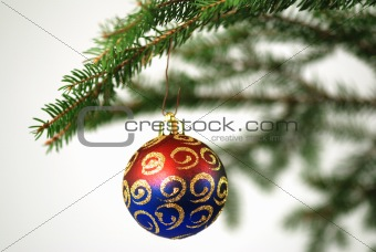 Christmas tree with deco