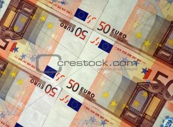 50 Euro background