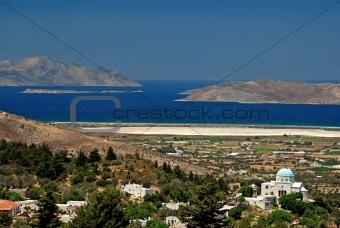 Greek church and sea