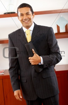 happy business man