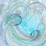 Abstract multi-colored swirl background image