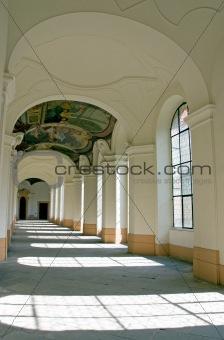 Monastery doorway