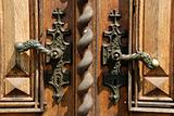 Ancient door handles