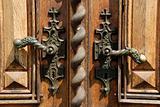 Ancient door handles