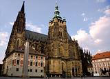 Cathedral of saint Vitus in Prague