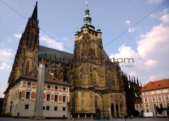 Cathedral of saint Vitus in Prague