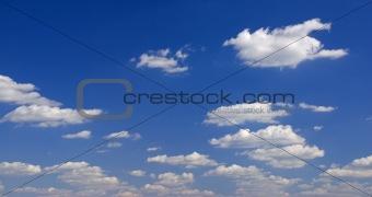 Blu sky and clouds