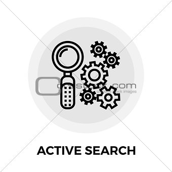Active search icon