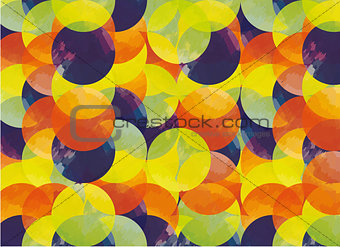 Background pattern with circles