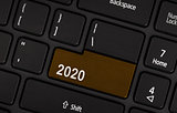 Text 2020 button