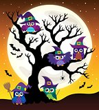 Owl witches theme image 4