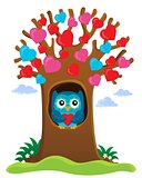 Valentine tree theme image 1