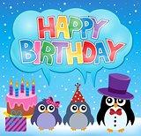Party penguin theme image 7