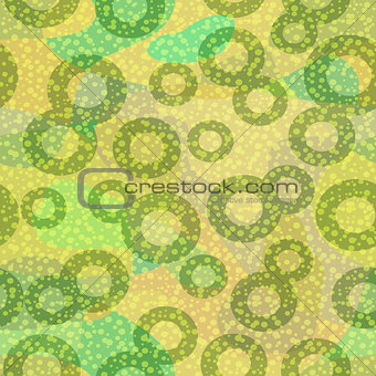 Abstract Green Seamless Pattern