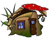 Dwarf Mushroom House