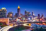Atlanta Georgia Skyline