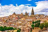 Toledo Spain Skyline