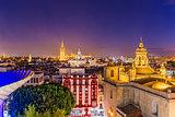 Seville Spain Skyline