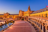 Spanish Square in Seville Spain
