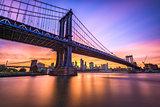 Manhattan Bridge on the East River