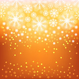 Glowing shiny christmas background. Vector eps10.