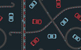 Seamless pattern traffic