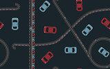 Seamless pattern traffic