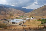 School in Xinaliq village in Azerbaijan