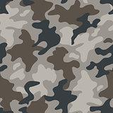 Modern fashion vector trendy camo pattern