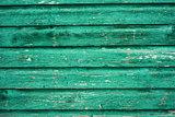 Vintage green wood panel