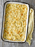 rustic english fish pie