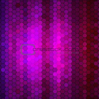 abstract geometric hexagon background