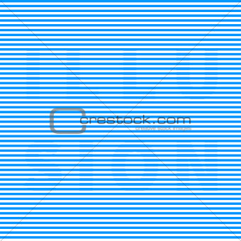 Blue and white optical illusion with text
