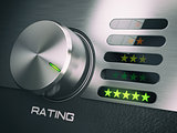 Five stars level of quality service, satisfaction