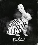 Rabbit cutting scheme chalk