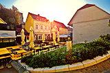 Old Tkalciceva street in Zagreb