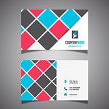 Modern business card design