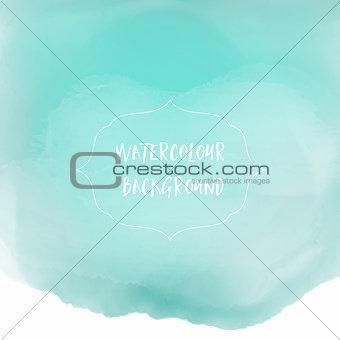 Watercolour wash background