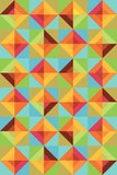 colorful Pattern Square background illustration