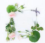 Garden fresh flowers
