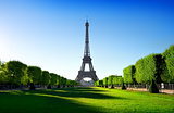 Eiffel Tower and Champ de Mars